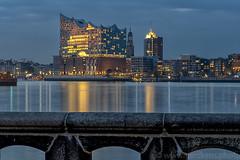 Three times the Elbphilharmonie of Hamburg - Different lights and times (gerckens.photo - hamburg) Tags: elbphilharmonie hamburg
