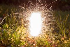 Garden Sparkler (Mike McNiven) Tags: garden sparkler firework sparks bonfirenight 5thnovember