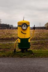 Minion (mbrinkhues) Tags: 2017 eos80d minion münsterland statuen tamron2470vc witzbilder