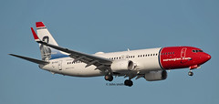 EI-FJZ NORWEGIAN 737 (john smitherman-http://canaviaaviationphotography.) Tags: plane planespotting landing lepa balearicislands eifjz norwegian canon 1dmk4 100400l palma pmi aviation aircraft airliner airplane aeroplane airport boeing boeing737 737 737800 jet jetliner spain majorca mallorca