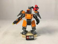 LEGO  Overwatch  Bastion (Syntheticmason 1) Tags: lego overwatch bastion
