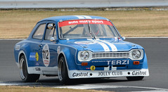 Ford Escort Mk1 - Gill (rallysprott) Tags: sprott wdcc rallysprott 2018 silverstone classic circuit motor sport car racing nikon d7100 historic touring challenge ford escort mark 1