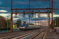AMTK #129 @ Croydon, PA (Darryl Rule's Photography) Tags: 2018 acs64 amtk amtrak autumn bs02 bristol buckscounty csao csx csxt cabcar catenary citiessprinter clouds cloudy conrail conrailsharedassets croydon diesel diesels emd eastbound electric fall gp402 geep grundy local necorridor neregional northeastcorridor northeastregional october pa pc prr passenger passengertrain passengertrains penncentral pennsy pennsylvania pennsylvaniarailroad railroad railroads septa spax siemens silverliner silverlinerv sun sunny train trains westbound