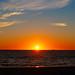 Sunset on Ameland Netherlands
