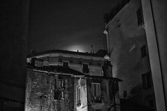 roofs (ale_brando) Tags: roofs romebynight roma rome mono monochrome moon silverefexpro nikonfx niksoftware fx nightphotography night