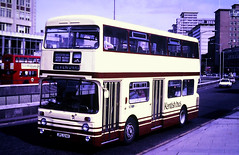 Slide 122-51 (Steve Guess) Tags: croydon surrey greater london england gb uk bus kentishbus leyland atlantean park royal lcbs an124 jpl124k