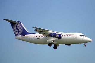 OO-DJS British Aerospace 146 Avro RJ85 SN Brussels Airlines