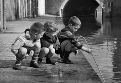 101 Educational uses for a school cane (theirhistory) Tags: boys children kids school cane corporalpunishment pain stick jumper shorts shoes wellies rubberboots water canal river