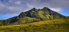 Icelandic Landscape along Ring Road 1 south coast of Iceland (mbell1975) Tags: rangárþingeystra southernregion iceland is icelandic landscape along ring road 1 south coast island ísland mountain range mountains paysage green