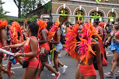 DSC_8422 Notting Hill Caribbean Carnival London Exotic Colourful Costume Girls Dancing Showgirl Performers Aug 27 2018 Stunning Ladies (photographer695) Tags: notting hill caribbean carnival london exotic colourful costume girls dancing showgirl performers aug 27 2018 stunning ladies