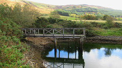 Abandoned jetty at Inverchaolain (Hugh Spicer / UIsdean Spicer) Tags: inverchaolainchurch scotland cowal firthofclyde lochstriven