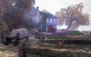 Cottage On The Riverbank... Autumn @ Soul2Soul River