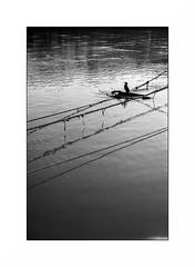 Conflans Sainte Honorine (Punkrocker*) Tags: leica iiif ltm leitz elmar 5cm 5035 redscale film fuji neopan acros 100 nb bwfp river harbor seine conflanssaintehonorine yvelines france