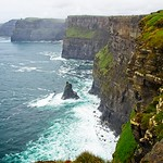 Misty day at the Cliffs of Moher, County Clare, Ireland thumbnail