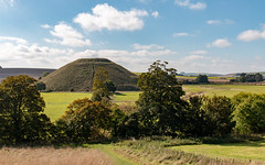 Silbury Hill (Keith in Exeter) Tags: wiltshire silbury hill archaeology neolithic english heritage landscape field grass tree sky