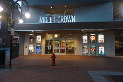 The Violet Crown (vmi63) Tags: charlottesville virginia downtown mall theater marquee
