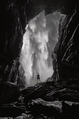 If you can't (gusdiaz) Tags: photomanipulation photoshop composite composition cave mountain waterfall artistic arte art blackandwhite bw nature naturaleza digitalart montaña blancoynegro epic awe awesome stunning hike hiker cueva sendero senderismo cascada waterfalls man