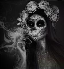 Pryce: Macabre Halloween Challenge. Smoking Skull No 36. (princess hienrichs (SLinworld)) Tags: prycemacabrehalloweenchallenge lode taox kunst stealthic