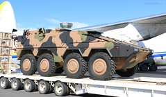 Boxer (Teutonic01) Tags: rheinmetall boxer armoured vehicle army antonov an124 ur82009 adelaideairport southaustralia ypad transport