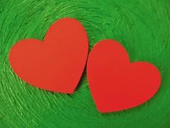 Two Hearts - A Perfect Match (Hannelore_B) Tags: macro herz heart perfectmatch macromondays