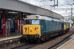 Hanson & Hall RSS 50008 (Mike McNiven) Tags: class50 diesel loco locomotive stockport kidderminster severnvalley eastlancashire eastlancs railway bury heywood