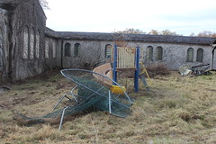 IMG_4606 (watchfuleyephoto) Tags: playground empty swings rockland state hospital psychiatric children horror scary creepy abandoned toys urbex