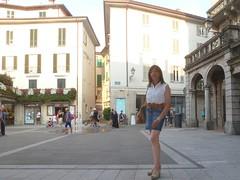 Lecco - Piazza XX Settembre (Alessia Cross) Tags: crossdresser tgirl transgender transvestite travestito