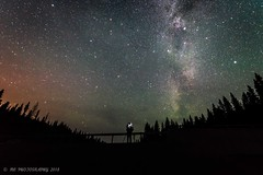The Beauty is Behind You... (last_glacier) Tags: astrophotography nightfall milky way outdoors stars person nature landscape long exposure