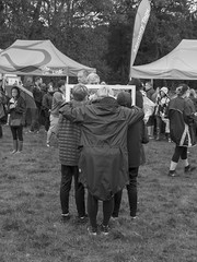 Say Cheese Again (Charliebubbles) Tags: olympus1250mmez northwich arleyhall memorywalk embracethegrey embracetherain blackandwhite candid mono street 2018