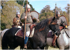 Battle of Hastings Re-enactment - we have come to claim what's rightfully ours (pg tips2) Tags: battleofhastings battle battlesussex thebattleofhastings1066 reenactment reenactors reenactments 1066andallthat 1066 2018