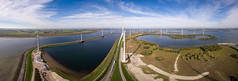 Windpark IV (Carsten aus MK) Tags: windmill windmillconstruction windpark windradbau netherlands windenergy windturbine panorama panoramaphotography drone aerialphotography aerial