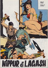 Lanciostory #v16#1 / Nippur di Lagash (micky the pixel) Tags: comics comic fumetti heft adventure euraeditoriale lanciostory robinwood sergiomulko nippurdilagash nippur torkadertiger