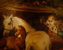 about 1856-1866 The Arab Tent by Edwin Henry Landseer (mark.wohlers) Tags: wallacecollection london unitedkingom 1856 arab tent edwinhenrylandseer animalpainting victorian exotic horses persian greyhounds monkeys sleepy cozy edwardvii
