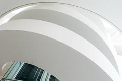 White curves (Maerten Prins) Tags: arhus aarhus denmark denemarken museum aros stair stairs stairwell staircase curve curves white wall abstract monochrome line lines minimal minimalism minimalistic