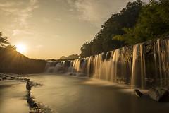 Kuro waterfall at sunrise (Subir Biswas) Tags: waterfall sunrise goldenhour nikonflickraward