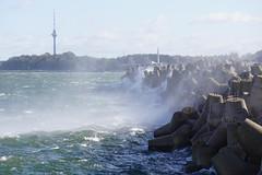 Windy day at the port of Tallinn Estonia (Toats Master) Tags: tallinn estonia fort wall port oldcity