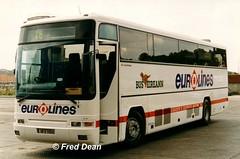 Bus Eireann VP76 (98D54641). (Fred Dean Jnr) Tags: buseireann waterford august1998 plaxton premiere volvo eurolines buseireannwaterforddepot waterforddepot vp76 98d54641 b10m