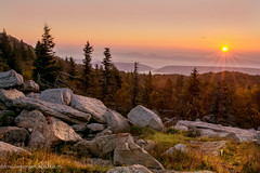 Top of the Morning (Singing Like Cicadas) Tags: 2018 autumn sunrise appalachia mountains dollysods randolphcounty nature outdoors landscape bearrocks onethousandgifts 1000gifts westvirginia laneville