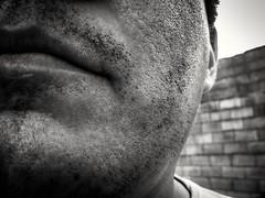 Donde esta mi Gillette? (KARLINHOS18) Tags: myself selfie fotografia foto flickr photo photography skin piel retratos portraits barba bigote macrofotografia macrophotography carloscolmenarezfotografia carloscolmenarezphotography bw bn goodmorning fotodeldia photooftheday
