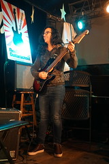 DSC04598 (NYC Guitar School) Tags: nyc guitar school student showcase nycgs plasticarmygirl music performance recital 102118 october 2018 line open mic sidewalk cafe new york city