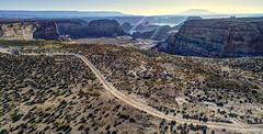 DJI_0074_5_6_7_8hdr (Greg Meyer MD(H)) Tags: lakepowell arizona utah alstrompoint aerial drone moon rugged erosion view beauty landscape drama barren desert deserted