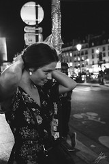 DSCF3353 (Shazaan Hyder) Tags: flo paris fujifilm xt2 travel europe portrait candid monochrome blackandwhite bw