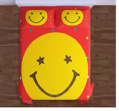Coolest Smiley Bed Sheet For Kids (mywowstuff) Tags: gifts gift ideas gadgets geeky products men women family home office