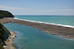 Turquoise..... (flying-leap) Tags: newzealand northcanterbury nz southisland spring landscape pacificocean sea ocean rural coastline coast coastnz sony sonydscrx10m4 sonydscrx10iv sonyrx10iv ruralnz hurunuirivermouth turquoise scavenger14