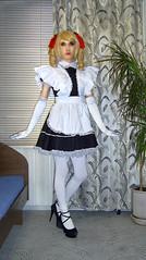 21 (Jessica_Ai) Tags: tights transsexual transvestite tgirl tranny trans tg tv sissy french maid