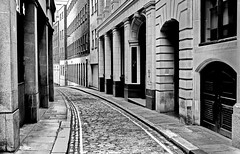 ......street in london..... (christikren) Tags: architecture blackwhite christikren monochrome noiretblanc panasonic street london building sw town doors windows blackandwhite bwadventures bw urban uk