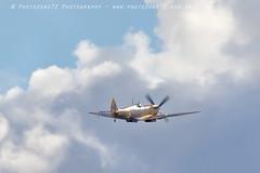 6341 BBMF Spitfire MK356 (photozone72) Tags: duxford iwmduxford airshows aircraft airshow aviation canon canon7dmk2 canon100400f4556lii 7dmk2 bbmf warbirds wwii spitfire mk356 raf
