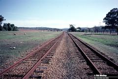 3794 Spencers Brook June 1983 (RailWA) Tags: railwa philmelling westrail 1983 spencers brook
