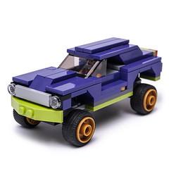 70906 High Rider (KEEP_ON_BRICKING) Tags: lego moc set 70906 joker lowrider remake rebuild alternate mod legomoc car vehicle offroad keeponbricking 2018 design