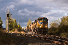 HKRV on the move (Tom Trent) Tags: sd70ace sd60m ac4400 hkrv up unionpacific lanecounty junctioncity